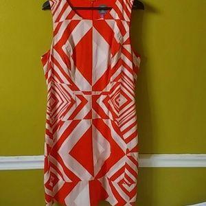 Vince Camuto A line dress multicolored.